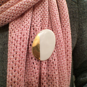 geometric GOLD - broche - LARGE / MEDIUM size