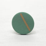 SOFT – ring – mint&gold  Ø 20mm / 30mm