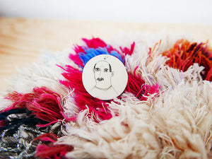 STORIES - broche - Raf  |  somethingsINSIDE x helenb  |  LAATSTE STUKS - limited edition