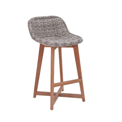 Danske Wicker Bar Chair