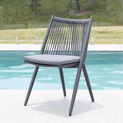 Salsa Dining Chair (Charcoal)
