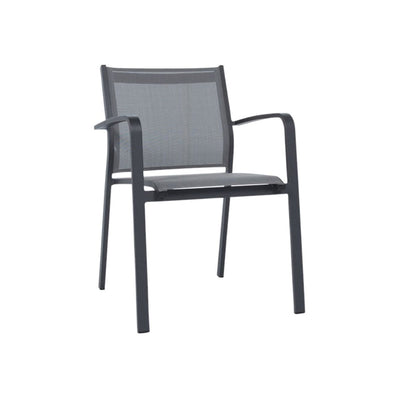Vienna Sling Chair - Charcoal