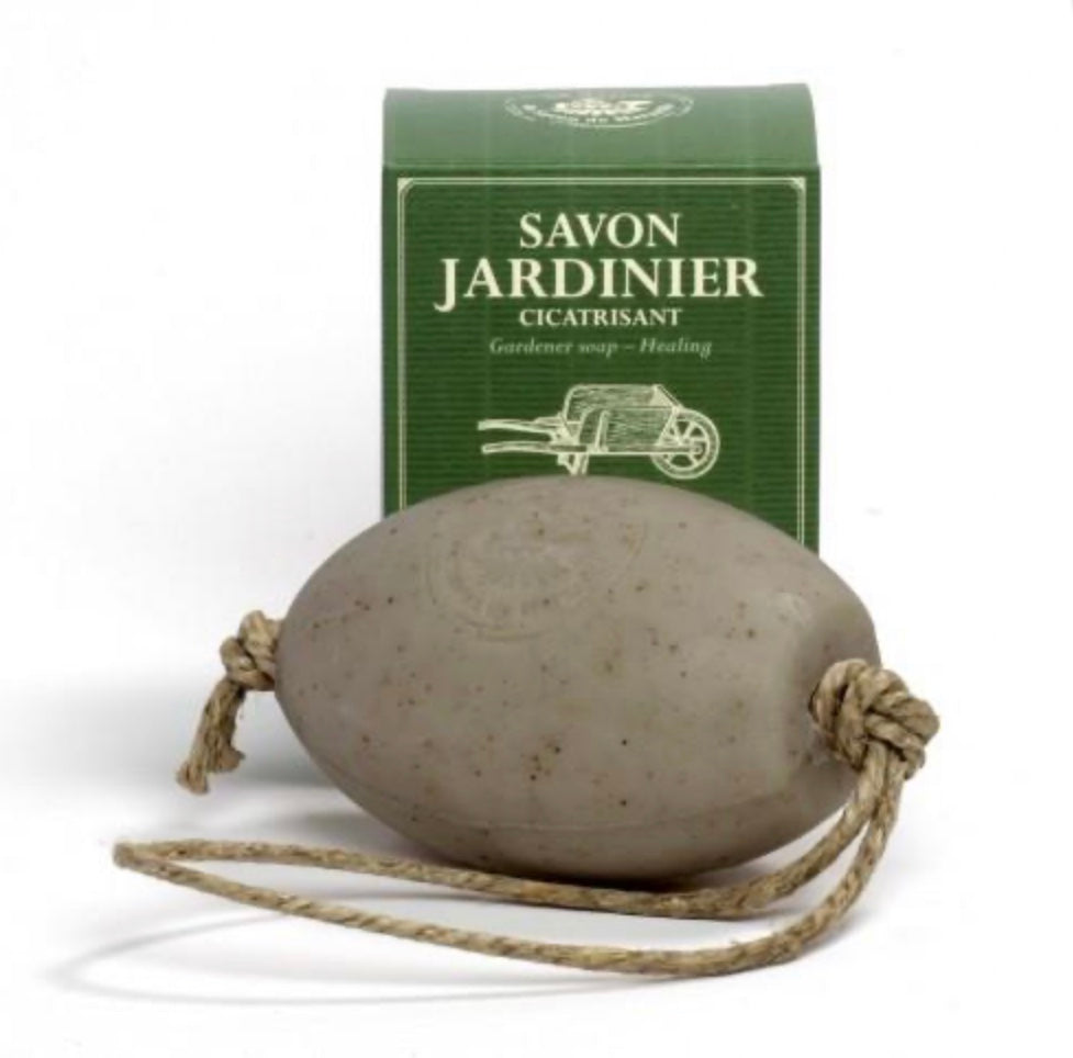 Gardeners Soap with Essential Oils-Soap on a Rope