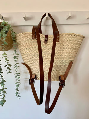 Small Backpack Basket