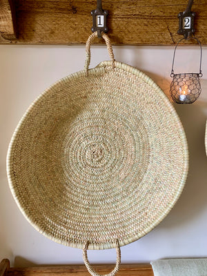 Large Round Palm Tray