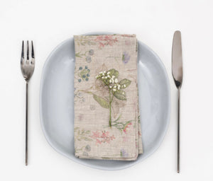 Washed Linen Napkins BOTANY or WHITE ...SET OF 2