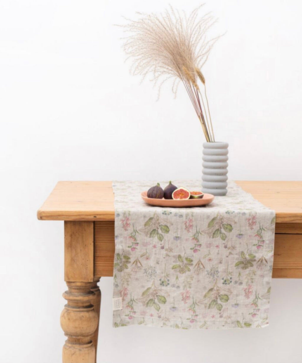 Botany Washed Linen Table Runner 2 SIZES