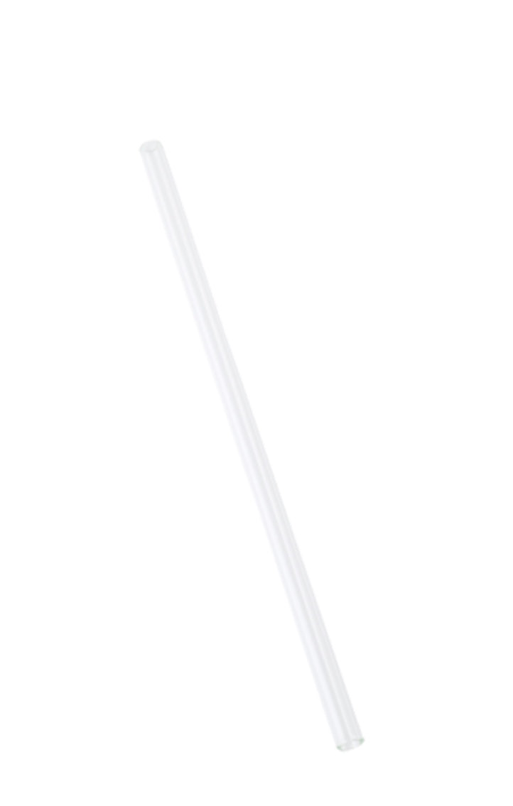 Glass Transparent Drinking Straws 24cm