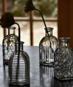 4 Square Bottle Vases ....4 DESIGNS