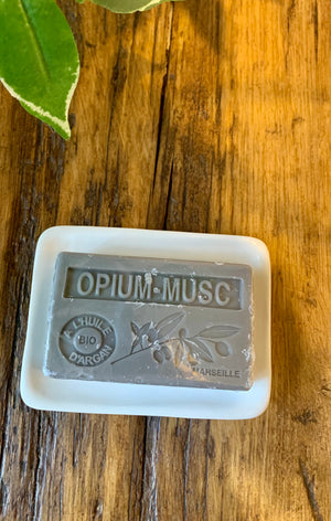Opium -Musc  French Soap with Argan oil 3 FOR 2