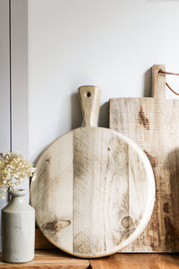 Rustic Round Chopping Board