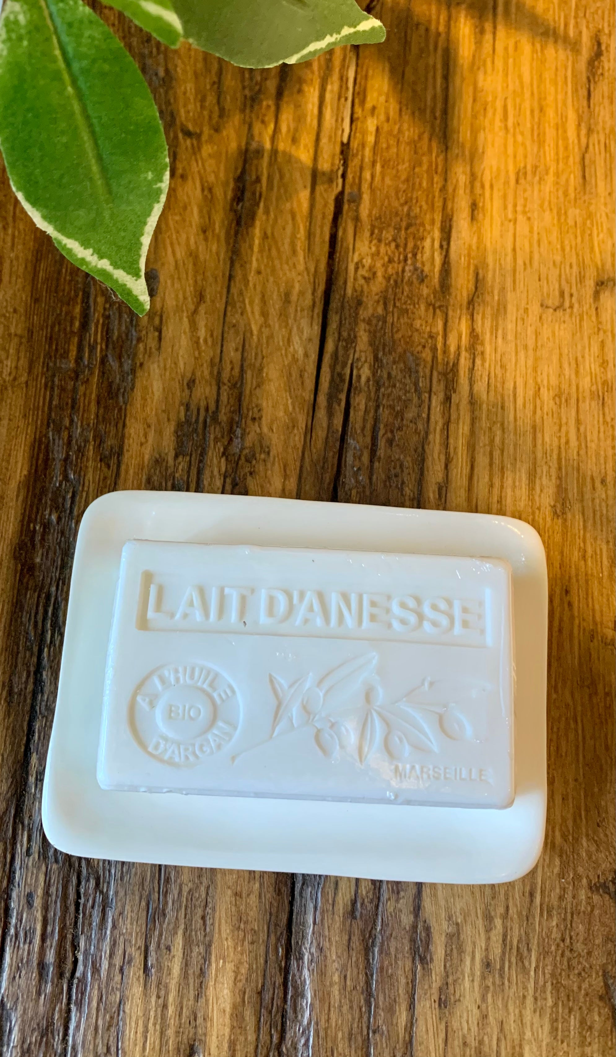 Lait D'Anessee French Soap with Argan Oil 3 FOR 2