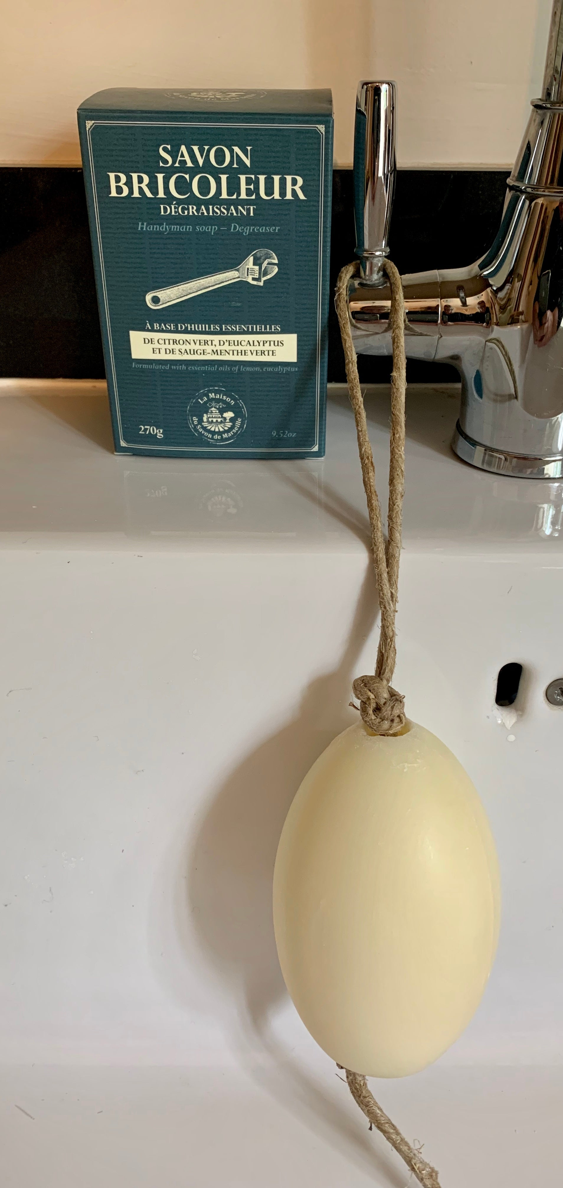 DIY Soap with Essential Oils - Soap on a Rope