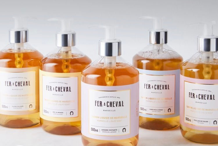 Fer A Cheval Liquid Soap in 4 FRAGRANCES 500ml
