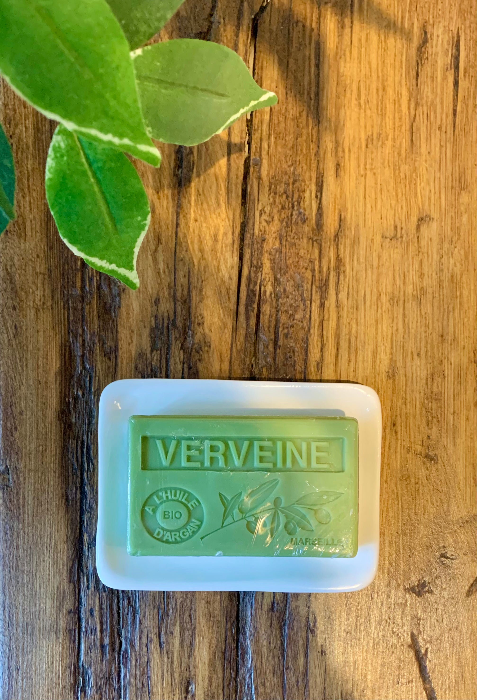 Verveine French Soap with Argan Oil 3 for 2