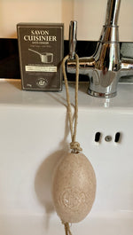 Exfoliating Kitchen Soap with Essential Oils - Soap on a Rope