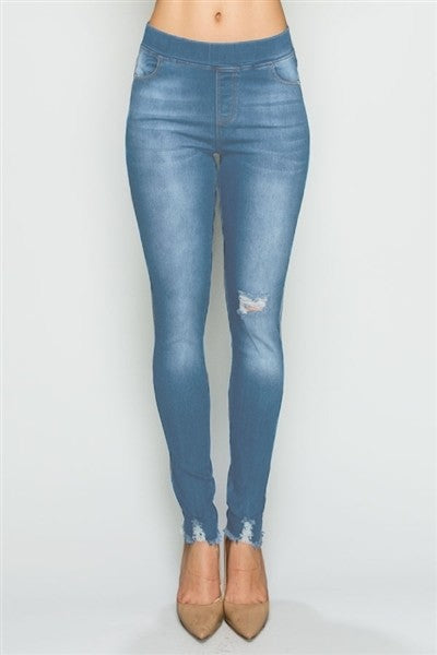 Cici Skinny Denim Jeggings