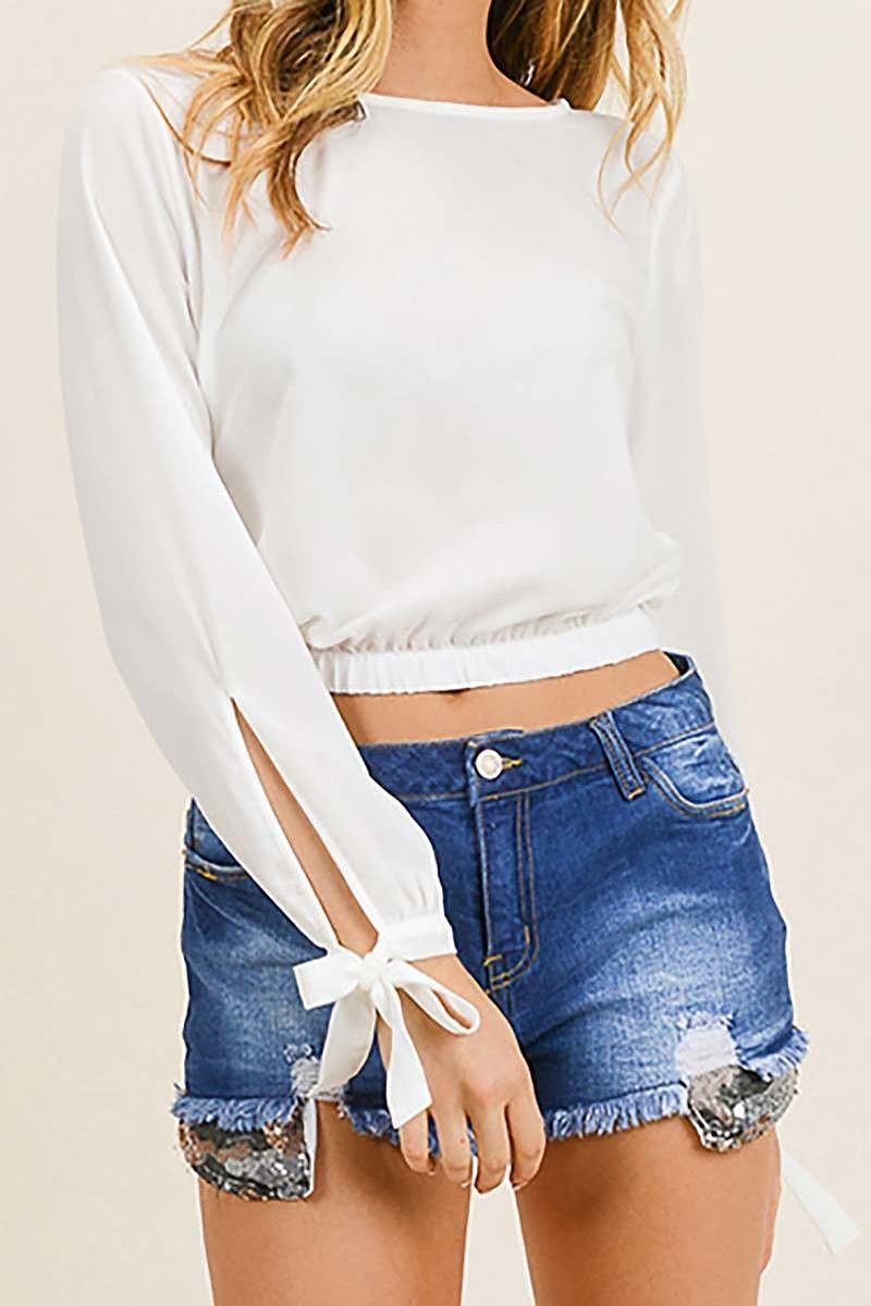 Bethany Boho Crop Top