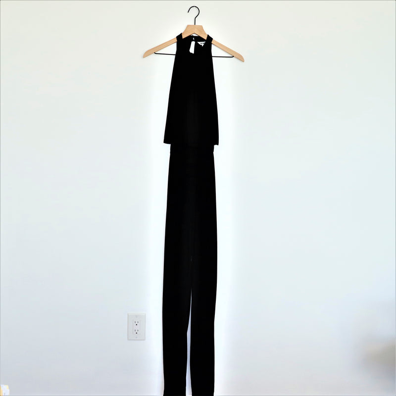 BB Dakota One on One Black Pant Jumpsuit