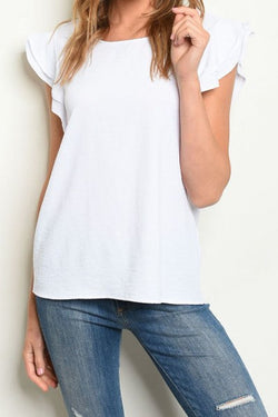 Ruffled Feathers Short Sleeve Shirt
