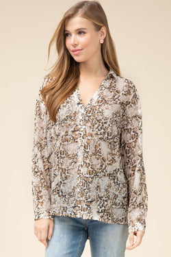 Lucy Leopard Top