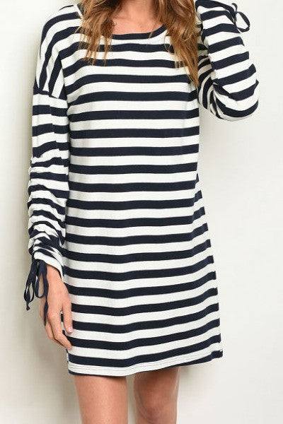 Crunch Stripped Dress