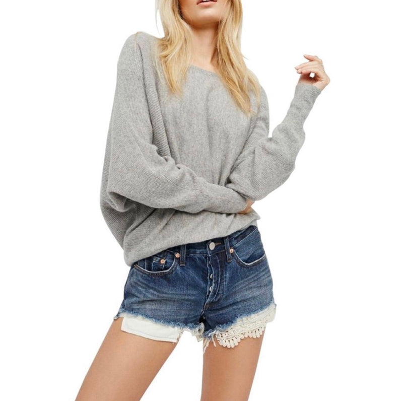 Free People Daisy Chain Lace Cut Off Shorts