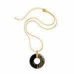 Parisian Love Circle Necklace