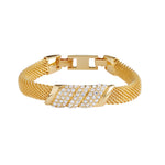 Jacqueline Kennedy Collection Crystal Mesh Bracelet