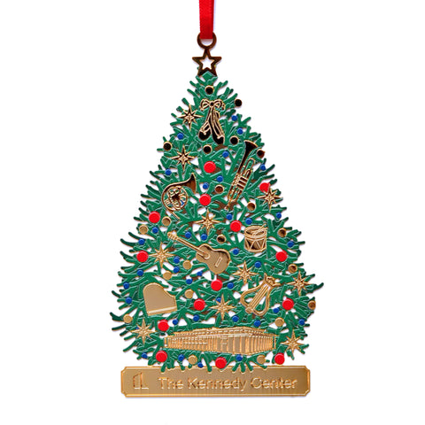 The Kennedy Center Music Tree Ornament