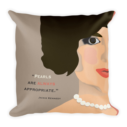 Jacqueline Kennedy Inspired Pillow