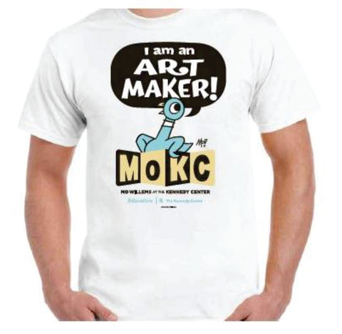 The Kennedy Center Mo Willems T-Shirt - White