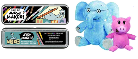 Mo WIllems Elephant & Piggie and Pencils Bundle