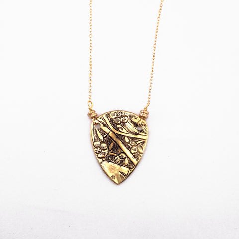 Guitar Pick String Necklace