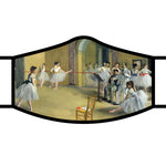 Degas Ballet Dance Foyer Face Mask