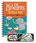 Mo Willems Doodle Pad and Pencil Box Bundle