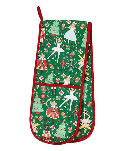 Nutcracker Suite Double Oven Mitt