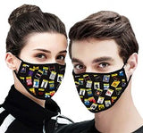 Playbill Broadway Face Mask