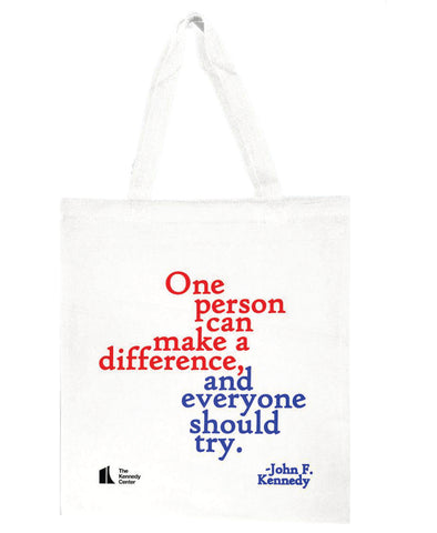 John F. Kennedy Quote Tote