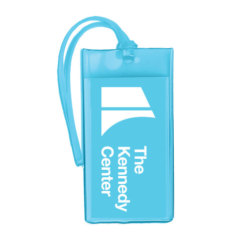 The Kennedy Center Luggage Tag - Blue