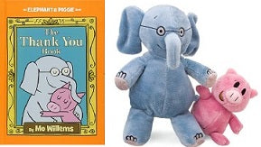 Bundle Mo Willems Thank You Book and Elephant & Piggie