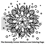Melissa Lew Downloadable Coloring Page