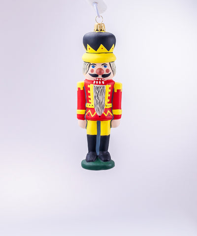 Vaillancourt Old World Nutcracker Ornament