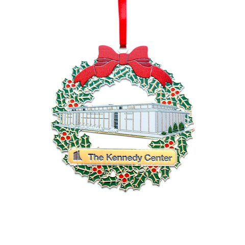 The Kennedy Center Wreath Holiday Ornament