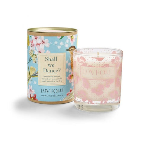 Shall We Dance Candle