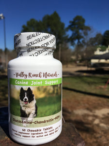 Valley Ranch Naturals Canine Joint Support Chewable Tablets