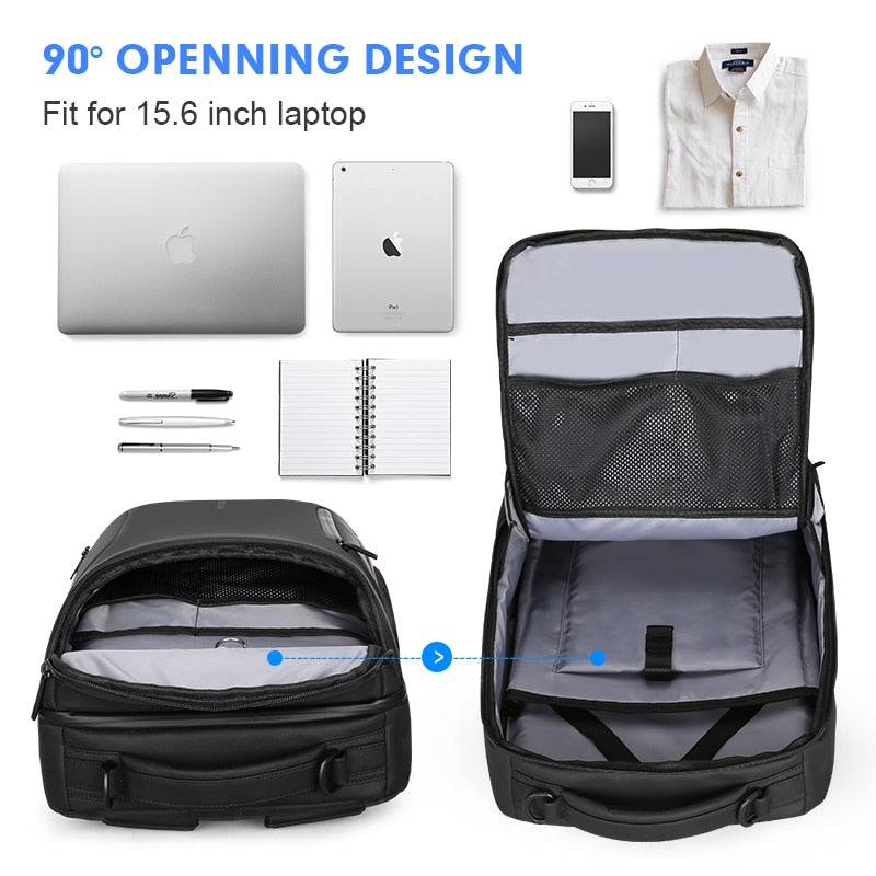 Mark Ryden 2020 New Anti-thief Fashion Men Backpack Multifunctional Waterproof 15.6 inch Laptop Bag Man USB Charging Travel Bag