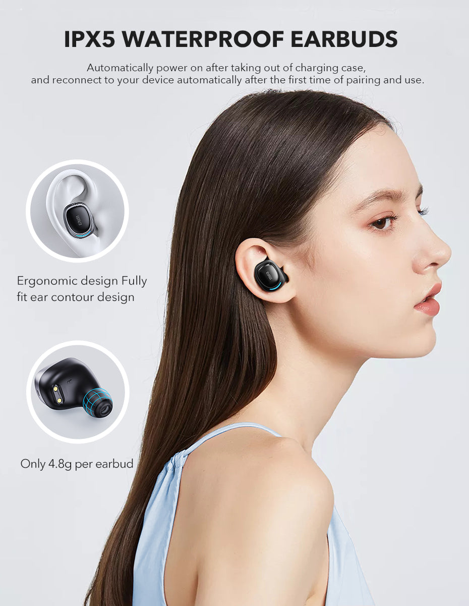 mifa X8 TWS Earbuds Wireless bluetooth earphones Touch Control Stereo Cordless Headset For iPhone Smart Phone With Charging Box