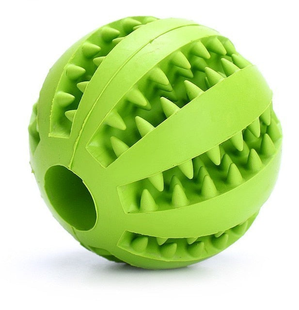 5/7/11cm Pet Dog Toys Extra-tough Rubber Ball Toy Interactive Elasticity Ball Dog Chew Toys For Dog Tooth Cleaning Treat Ball