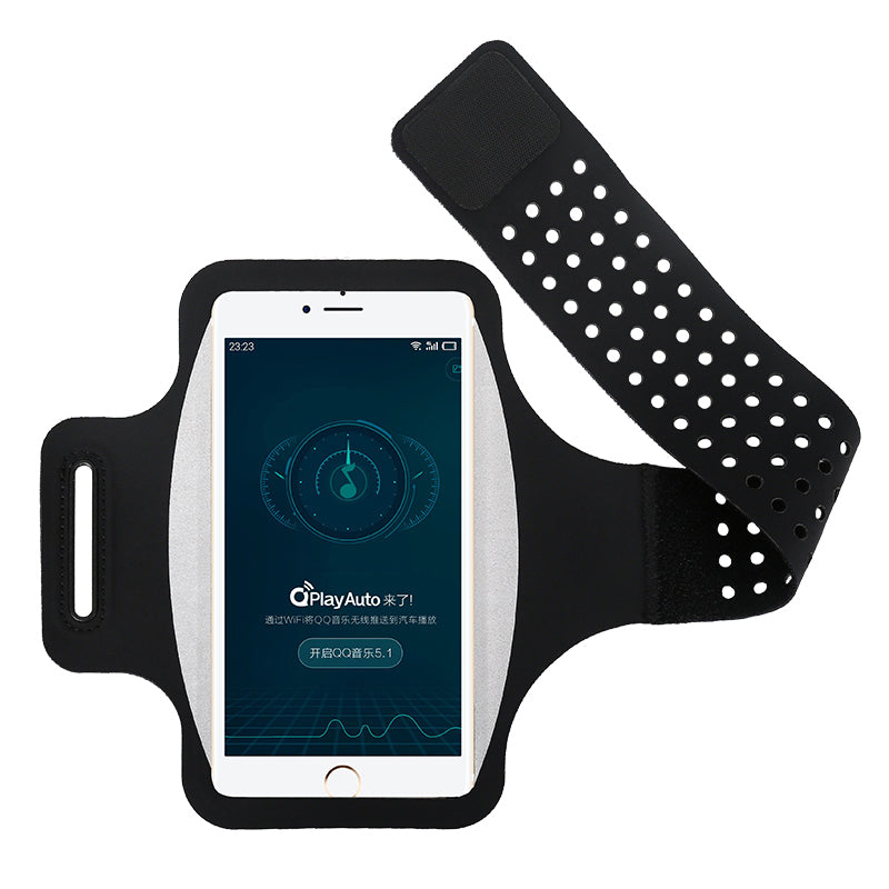 Haissky Running Sport Phone Case On Hand Armband For Samsung S10 S9 S8 iPhone X Xs Xr 6 7 8 Plus Phone holder Brassard Arm band
